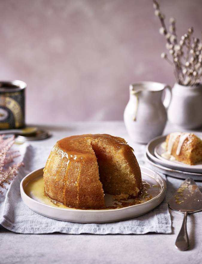 Recipe: Classic steamed treacle pudding