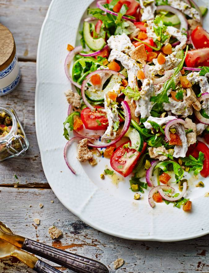 Recipe: Lebanese turkey salad