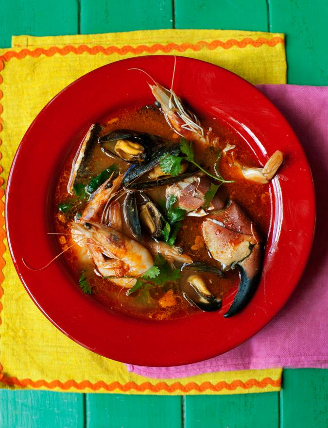 Recipe: Seafood soup