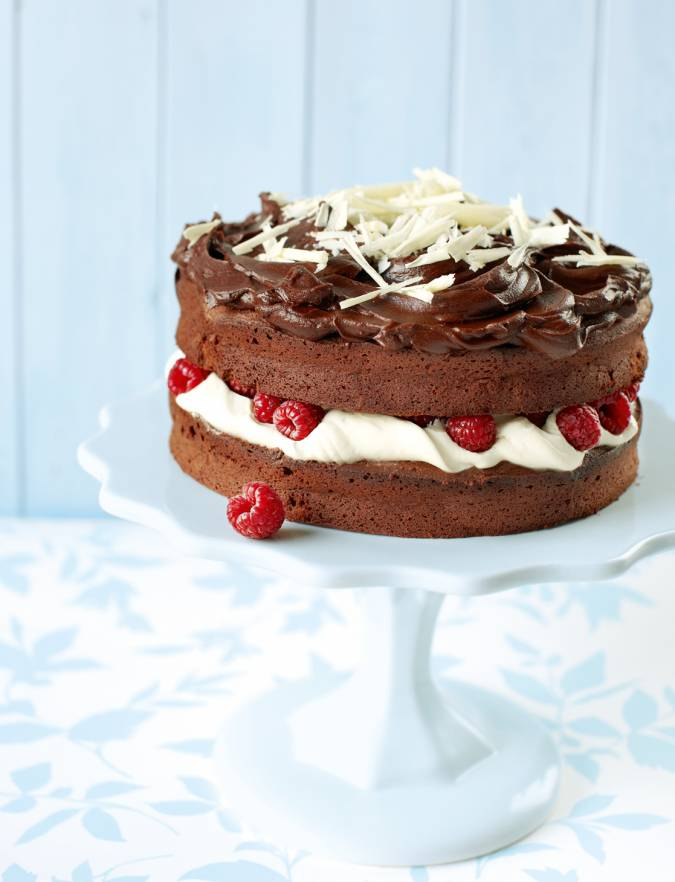 Recipe: Double chocolate cake