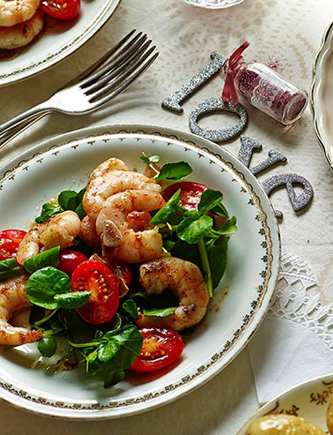 Recipe: Flash-fried Moroccan prawns