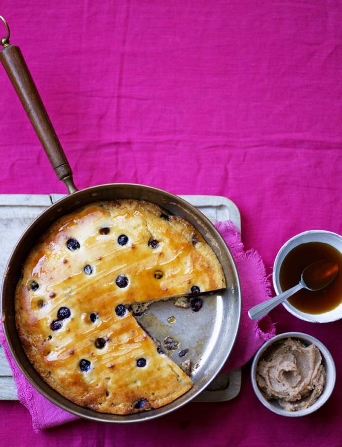 Recipe: Blueberry and almond 