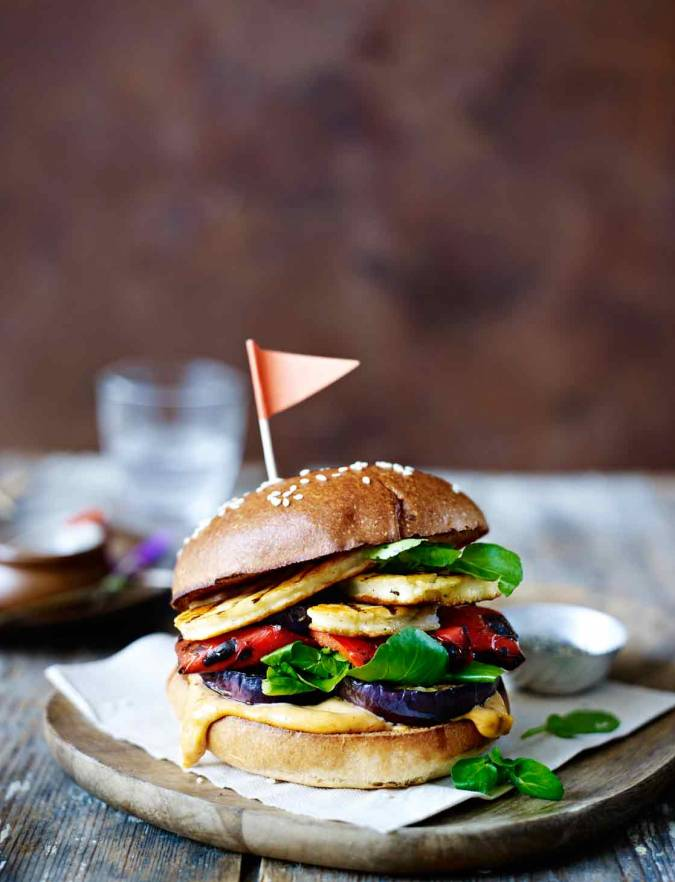 Recipe: The ultimate veggie burger with lemon-chipotle mayo