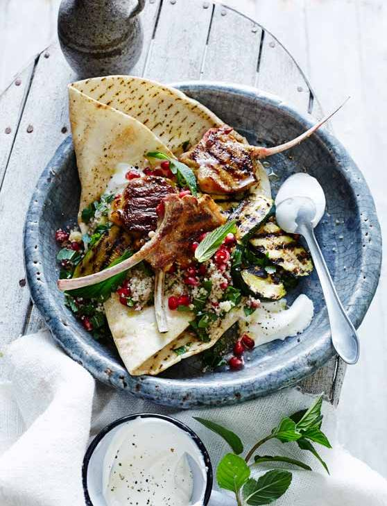 Recipe: Moroccan lamb salad with jewelled couscous