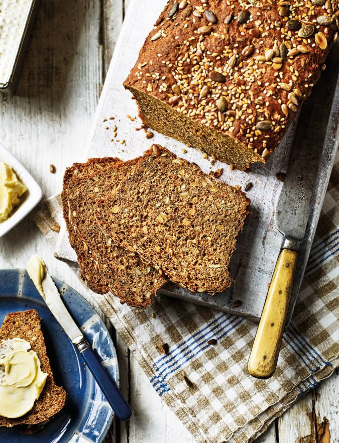 Recipe: Seed-packed rye loaf