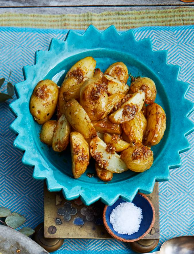 Recipe: Sumac and orange-buttered new potatoes
