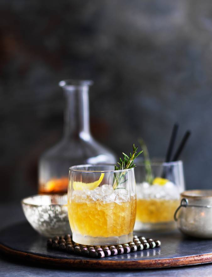 Recipe: Whisky and honey smash