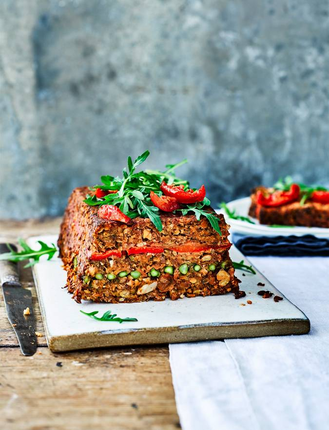 Recipe: Summer lentil-nut roast