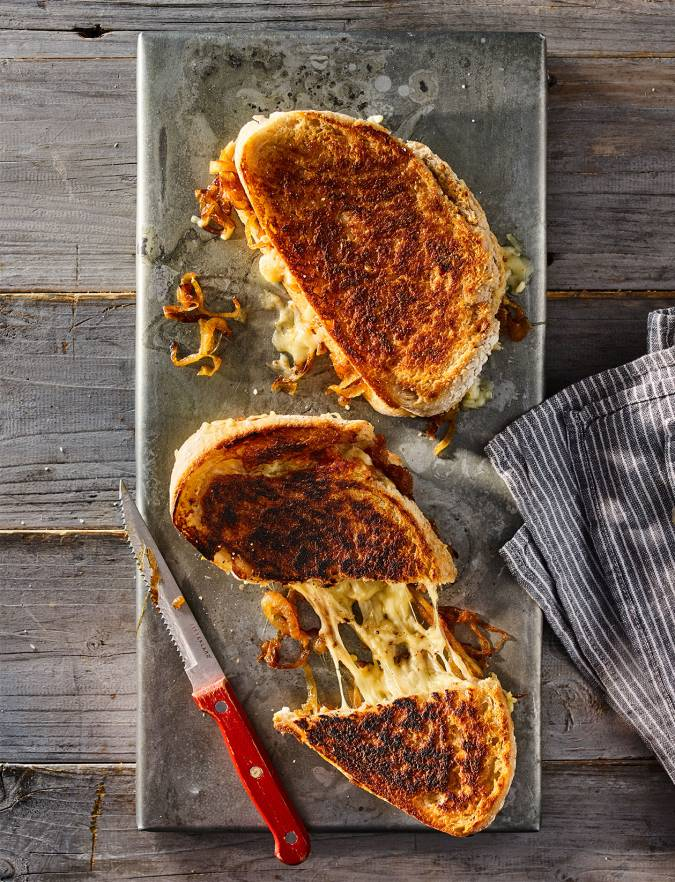Recipe: French onion soup toastie