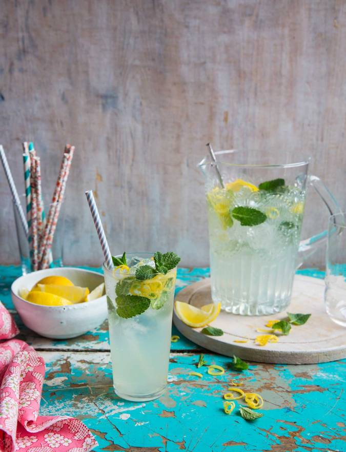 Recipe: Homemade mint lemonade