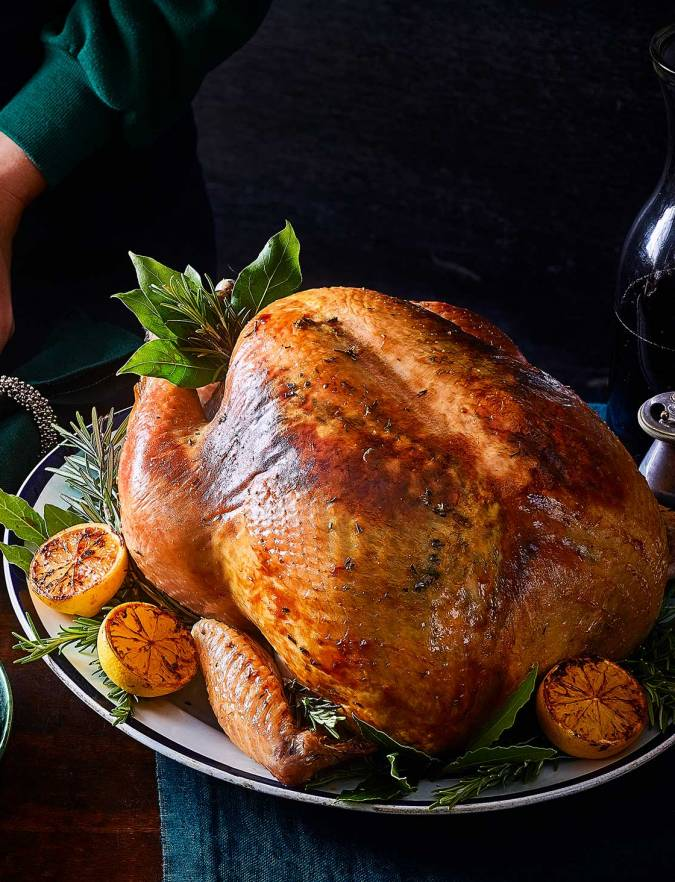 Recipe: Rosemary & lemon butter-roasted turkey