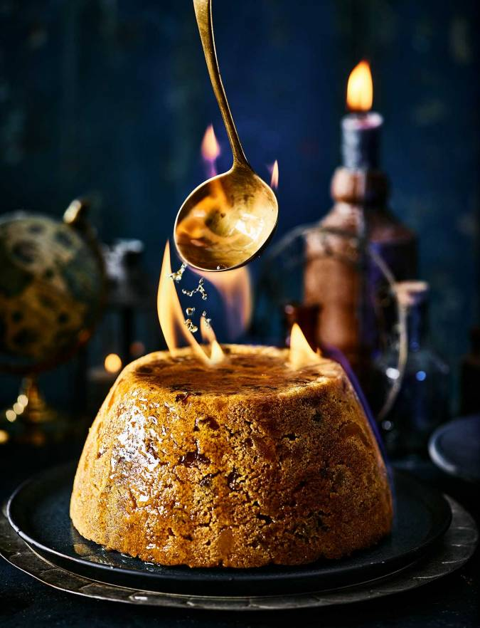 Recipe: Golden glow Christmas pudding