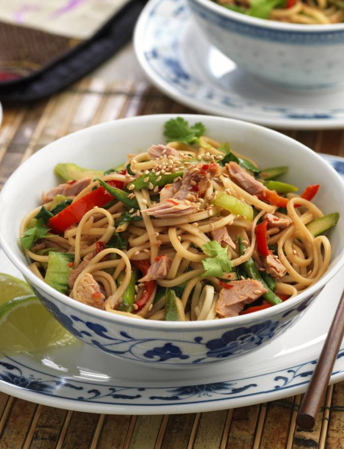 Recipe: John West chilli and garlic tuna stir-fry