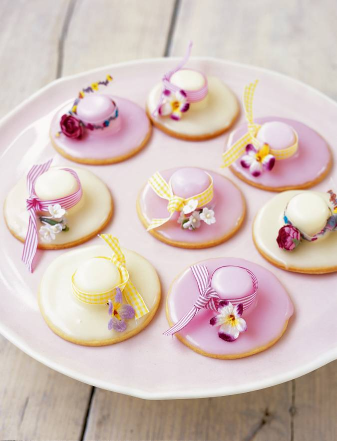 Recipe: Easter bonnet biscuits