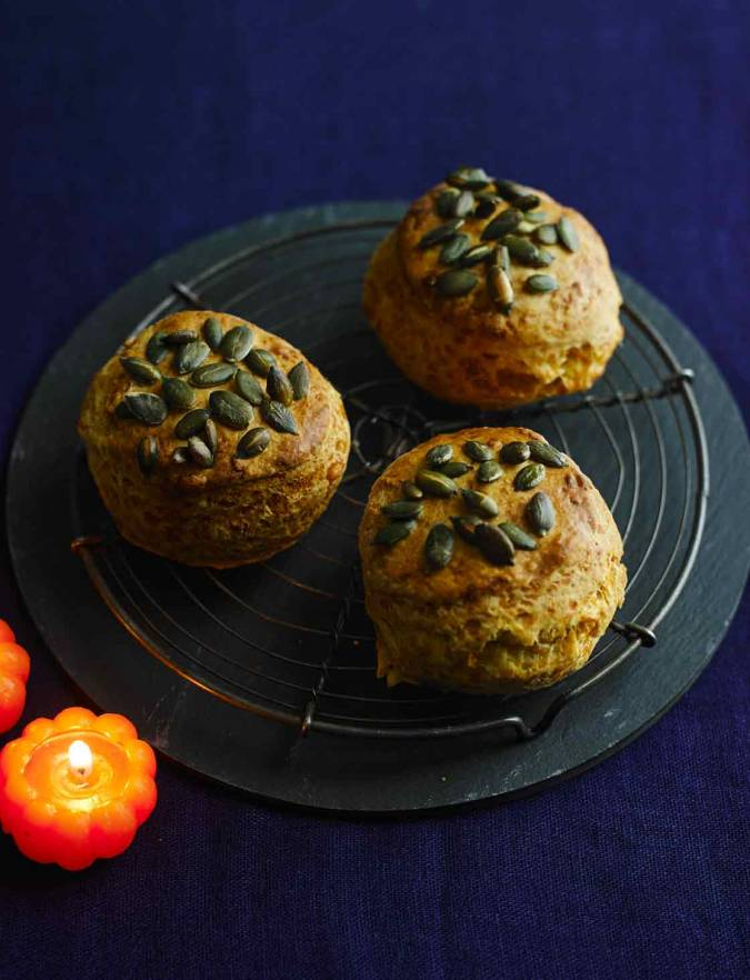 Recipe: Cheese and pumpkin seed scones
