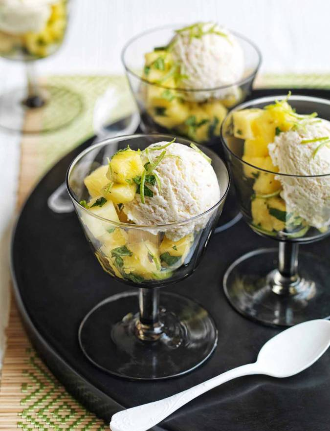 Recipe: Cheat's lime, coconut and rum ice cream