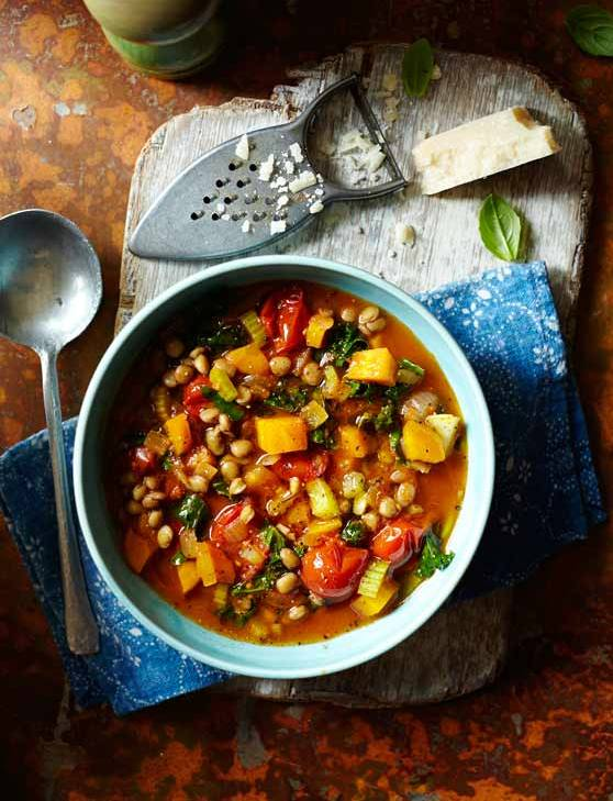 Recipe: Lentil and vegetable minestrone