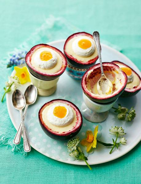 Recipe: Passion fruit and white chocolate mousse