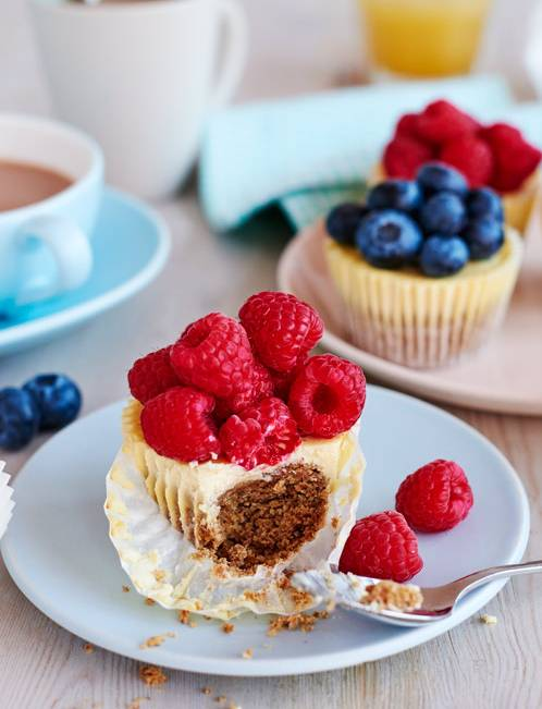 Recipe: Low-fat cheesecake breakfast muffins