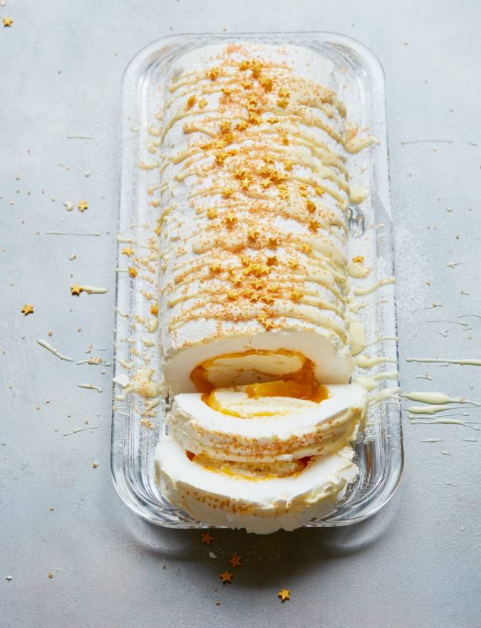Recipe: Roulade with clementine