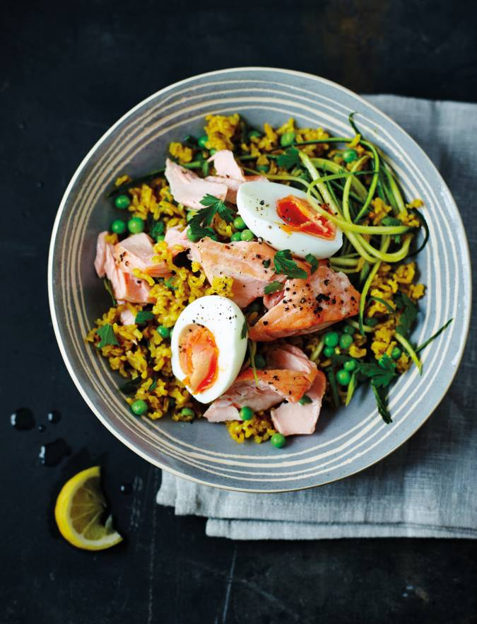 Recipe: Tom Daley's kedgeree with salmon