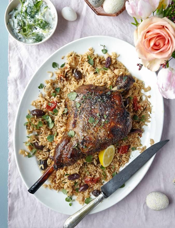 recipe: greek roast lamb [24]