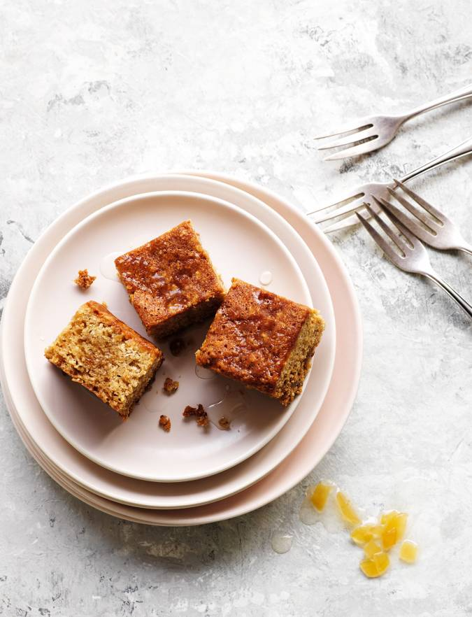 Recipe: Sticky ginger parkin