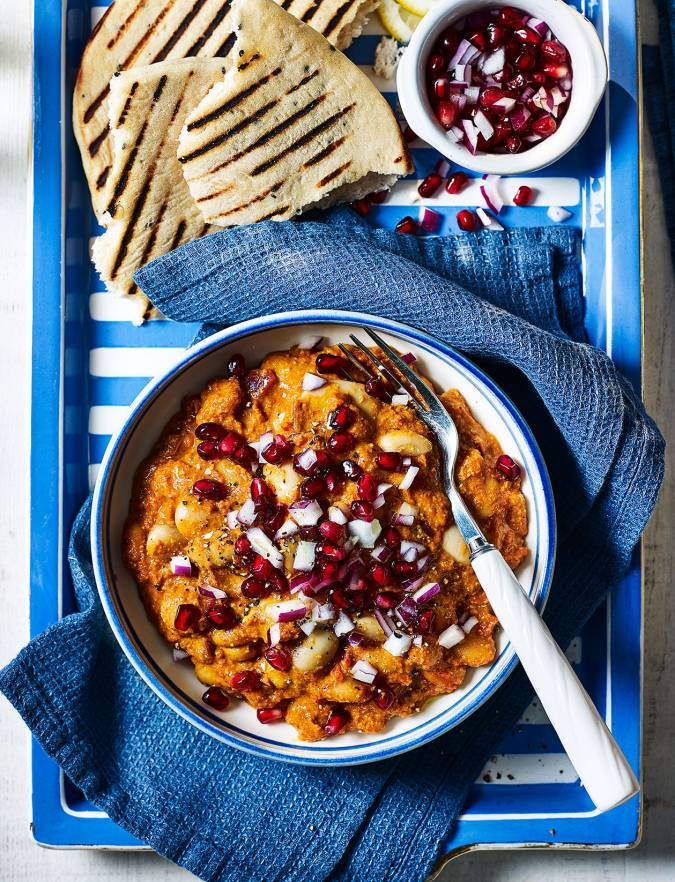 Recipe: Butter bean makhani