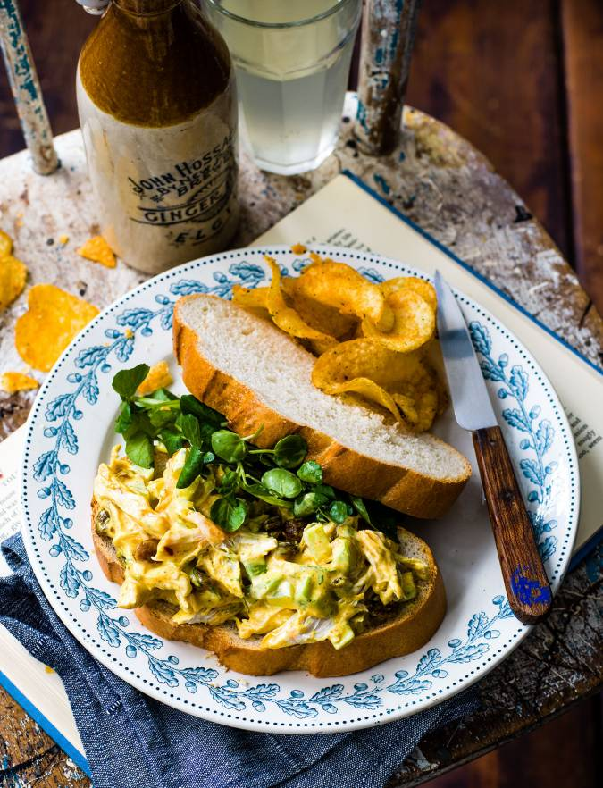Recipe: Coronation chicken