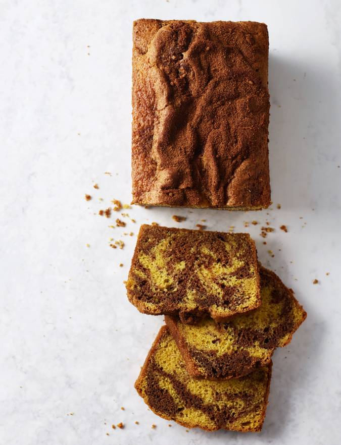 Recipe: Cinnamon marble loaf cake
