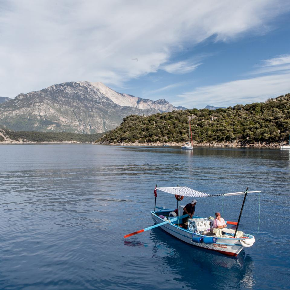 Sailing the Med: yachting cruise on the Turkish coast