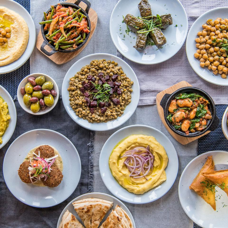 Restaurant Review Vegan Menu At The Real Greek