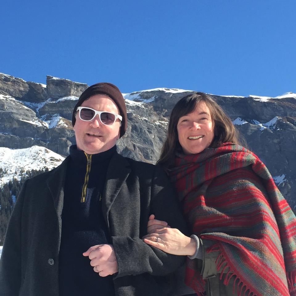 Christy-and-Francesca-up-the-mountain-in-Flims