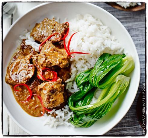 Weekend curry - Bill Granger's Beef Rendang | Sainsbury's ...