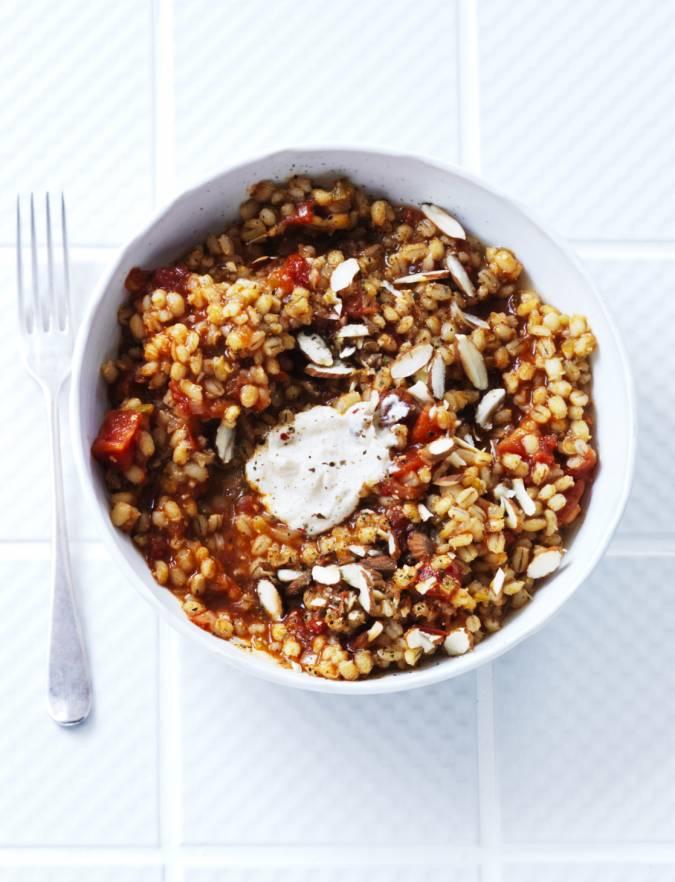 Pearl Barley Risotto Recipe