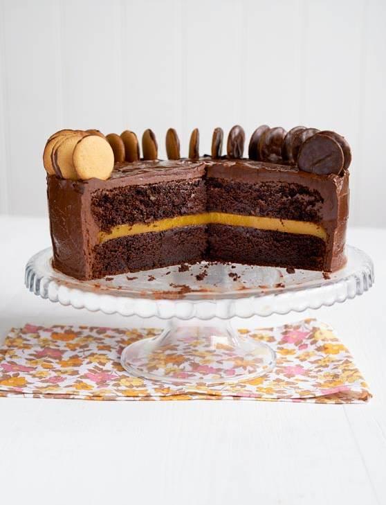 Jaffa Mud Cake Recipe