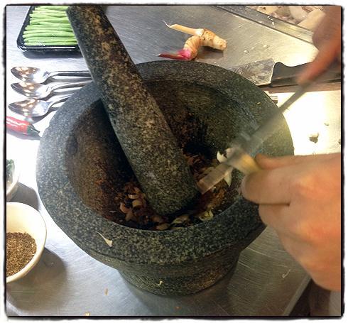 Thai curry masterclass sainsbury 39 s magazine for Giant chilli thai